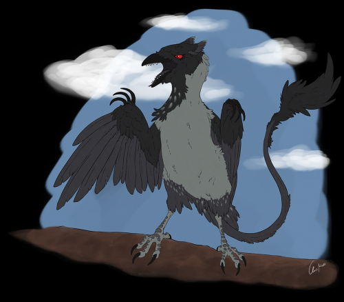 [Commission] Terrorcrow V1 by Ralenfox