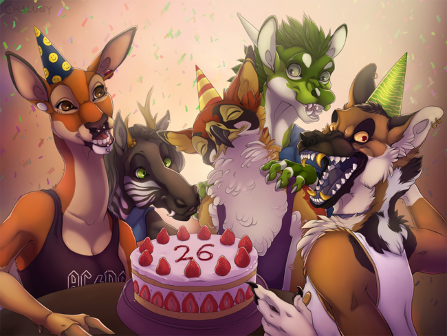 [YCH] Birthday Picture by Chaluny